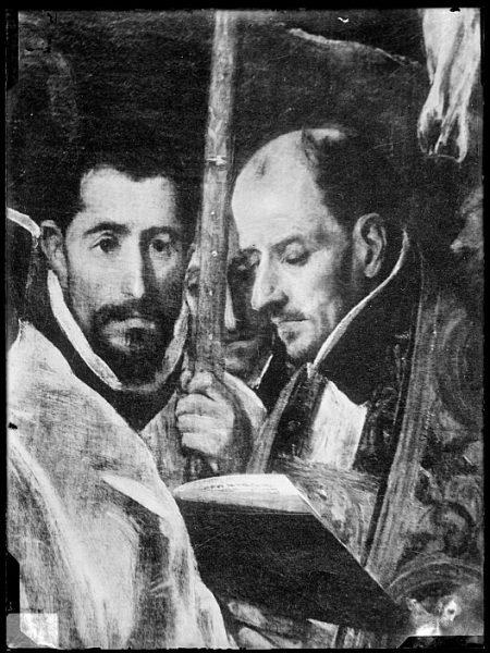 CA-0556-VI_Pintura de Domenico Theotocopuli El Greco-Detalle del Entierro del Conde de Orgaz