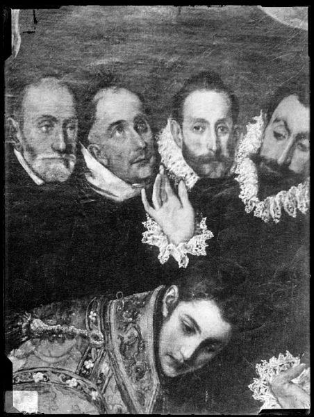 CA-0557-VI_Pintura de Domenico Theotocopuli El Greco-Detalle del Entierro del Conde de Orgaz