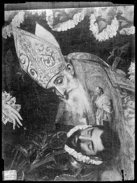 CA-0558-VI_Pintura de Domenico Theotocopuli El Greco-Detalle del Entierro del Conde de Orgaz