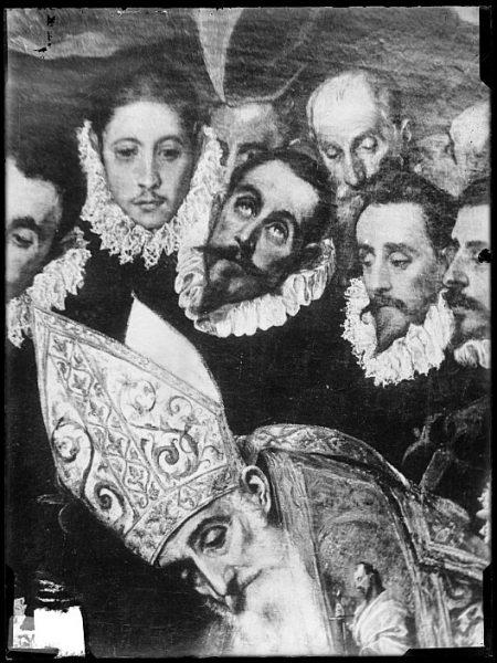 CA-0559-VI_Pintura de Domenico Theotocopuli El Greco-Detalle del Entierro del Conde de Orgaz