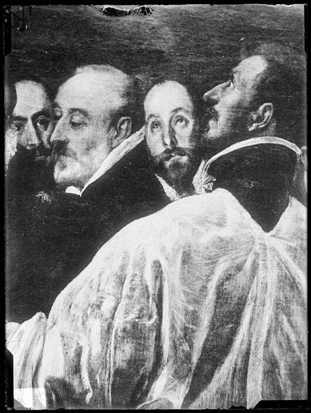 CA-0560-VI_Pintura de Domenico Theotocopuli El Greco-Detalle del Entierro del Conde de Orgaz