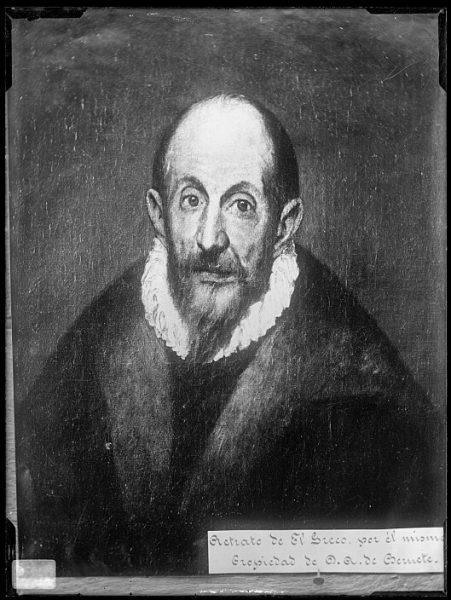 CA-0568-VI_Pintura de Domenico Theotocopuli El Greco-Autorretrato