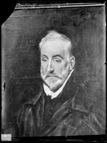 CA-0569-VI_Pintura de Domenico Theotocopuli El Greco-Antonio de Covarrubias
