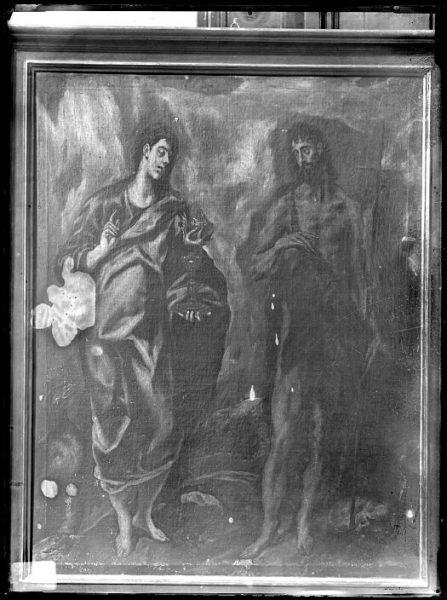 CA-0576-VI_Pintura de Domenico Theotocopuli El Greco-Los Santos Juanes