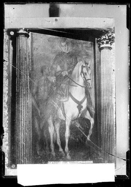 CA-0579-VI_Pintura de Domenico Theotocopuli El Greco-San Martín de Tours y el mendigo