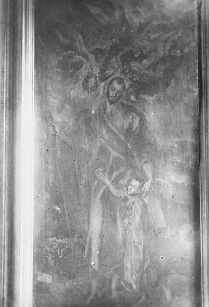 CA-0582-PA_Pintura de Domenico Theotocopuli El Greco-San José y el Niño