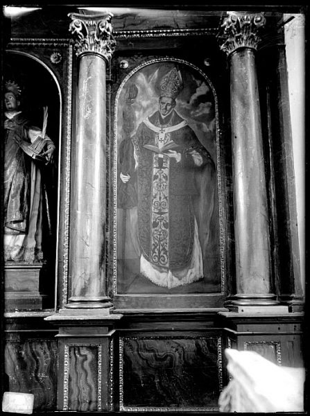 CA-0583-VI_Pintura de Domenico Theotocopuli El Greco-San Ildefonso