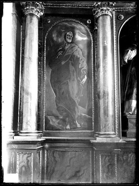 CA-0584-VI_Pintura de Domenico Theotocopuli El Greco-San Pedro