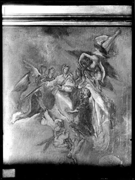 CA-0585-VI_Pintura de Domenico Theotocopuli El Greco-Detalle de la Vista y plano de Toledo