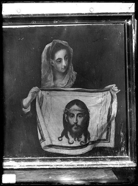 CA-0589-VI_Pintura de Domenico Theotocopuli El Greco-Verónica con la Santa Faz