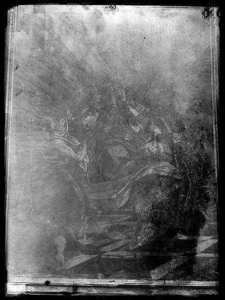 CA-0591-VI_Pintura del taller de El Greco-Pentecostés