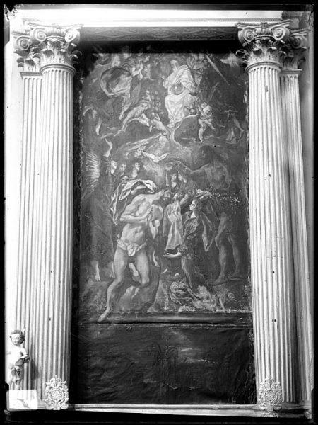 CA-0595-VI_Pintura de Domenico Theotocopuli El Greco-Bautismo