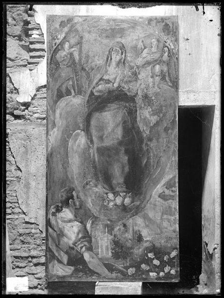 CA-0597-VI_Pintura de Domenico Theotocopuli El Greco-Inmaculada Concepción con San Juan Evangelista