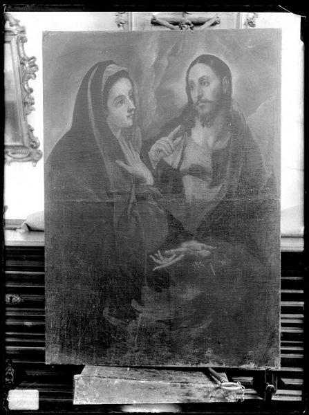 CA-0601-VI_Pintura de Domenico Theotocopuli El Greco-Cristo despidiéndose de su Madre