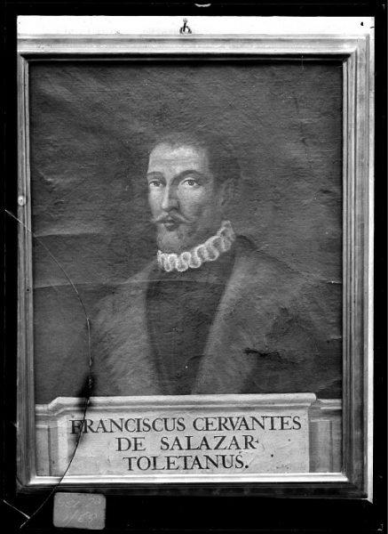 CA-0608-VI_Pintura de la Colección Borbón Lorenzana-Retrato del toledano Francisco Cervantes de Salazar