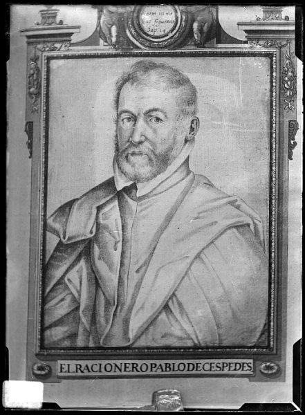 CA-0609-VI_Pintura de la Colección Borbón Lorenzana-Retrato del racionero Pablo de Céspedes