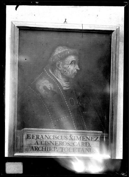 CA-0610-VI_Pintura de la Colección Borbón Lorenzana-Retrato del arzobispo Francisco Jiménez de Cisneros