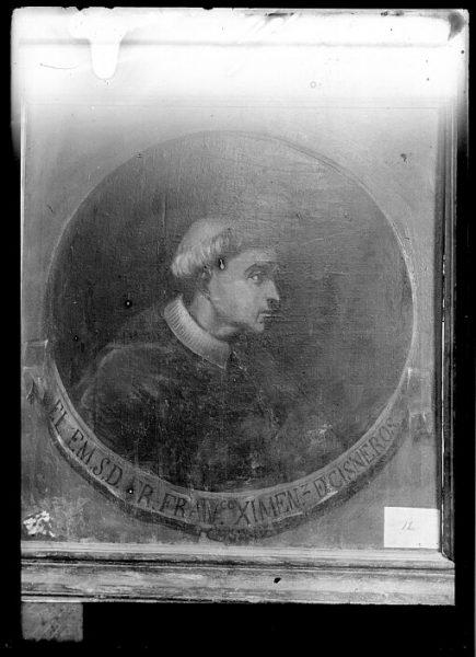 CA-0611-VI_Pintura de la Colección Borbón Lorenzana-Retrato del arzobispo Francisco Jiménez de Cisneros