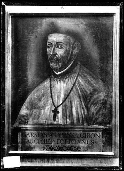 CA-0615-VI_Pintura de la Colección Borbón Lorenzana-Retrato del arzobispo García de Loaisa Girón