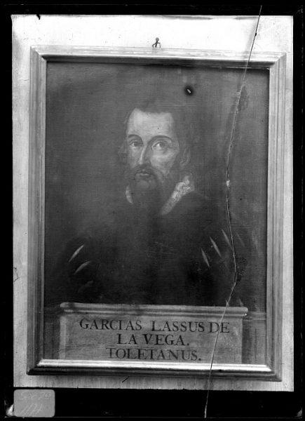 CA-0616-VI_Pintura de la Colección Borbón Lorenzana-Retrato del toledano Garcilaso de la Vega