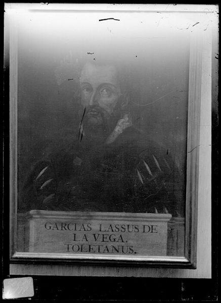 CA-0617-VI_Pintura de la Colección Borbón Lorenzana-Retrato del toledano Garcilaso de la Vega