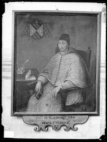 CA-0620-VI_Pintura de la Colección Borbón Lorenzana-Retrato del cardenal Pedro González de Mendoza