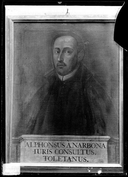 CA-0621-VI_Pintura de la Colección Borbón Lorenzana-Retrato del jurista toledano Alfonso de Narbona