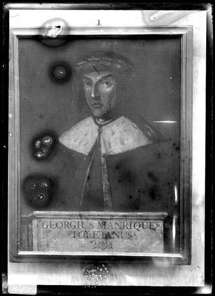 CA-0623-VI_Pintura de la Colección Borbón Lorenzana-Retrato del toledano Jorge Manrique