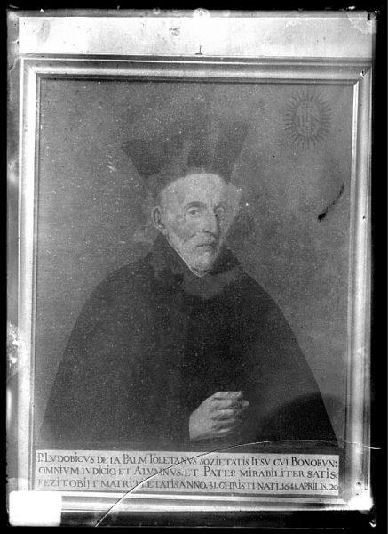 CA-0625-VI_Pintura de la Colección Borbón Lorenzana-Retrato del jesuita Luis de la Palma