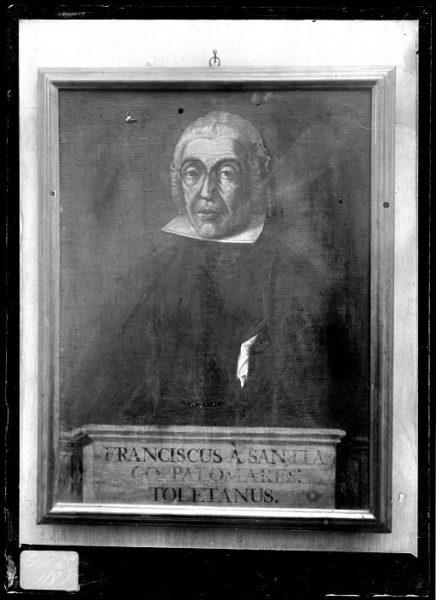 CA-0626-VI_Pintura de la Colección Borbón Lorenzana-Retrato del toledano Francisco Santiago Palomares