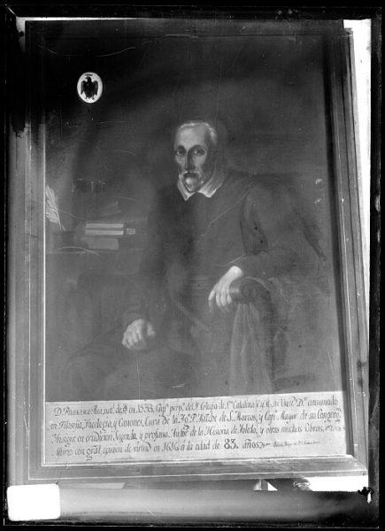 CA-0627-VI_Pintura de la Colección Borbón Lorenzana-Retrato del escritor Francisco de Pisa, capellán del colegio de Santa Catalina