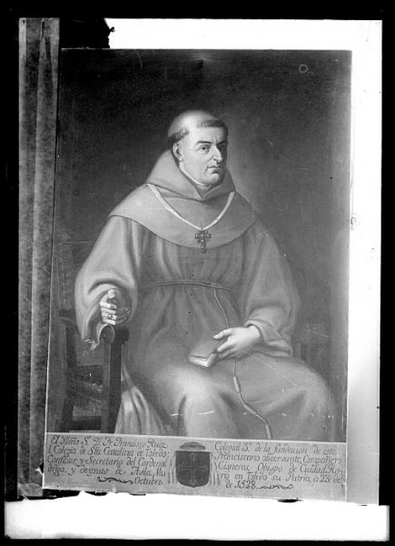 CA-0628-VI_Pintura de la Colección Borbón Lorenzana-Retrato del toledano Francisco Ruiz, obispo de Ávila