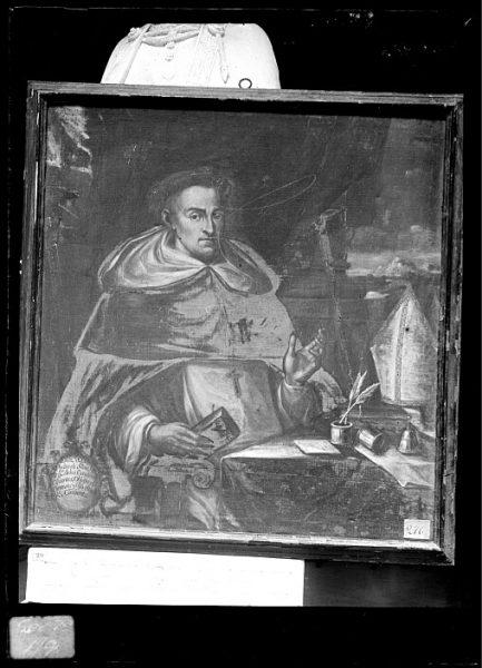 CA-0629-VI_Pintura de la Colección Borbón Lorenzana-Retrato de Pedro de Silva, obispo de Orense