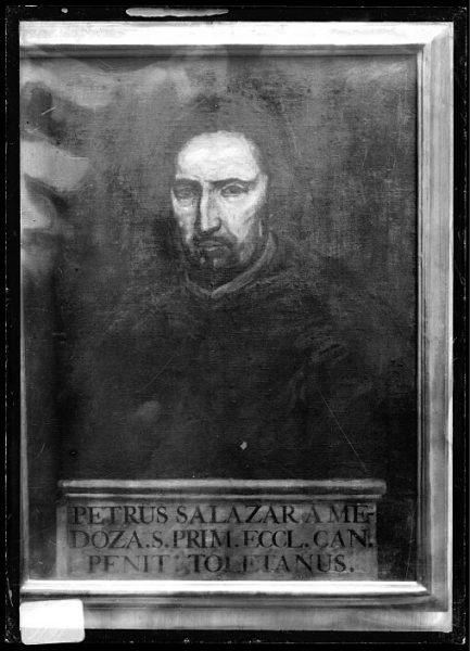 CA-0630-VI_Pintura de la Colección Borbón Lorenzana-Retrato del canónigo Pedro Salazar de Mendoza