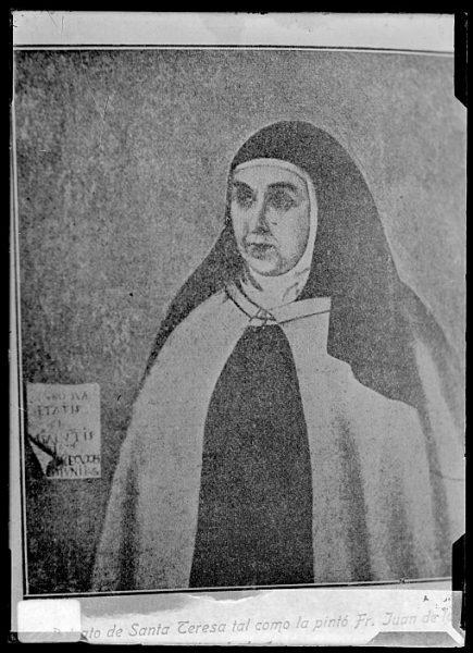 CA-0632-VI_Pintura de la Colección Borbón Lorenzana-Retrato de Santa Teresa de Jesús