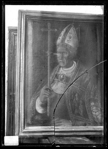 CA-0633-VI_Pintura de la Colección Borbón Lorenzana-Retrato de cardenal Silíceo