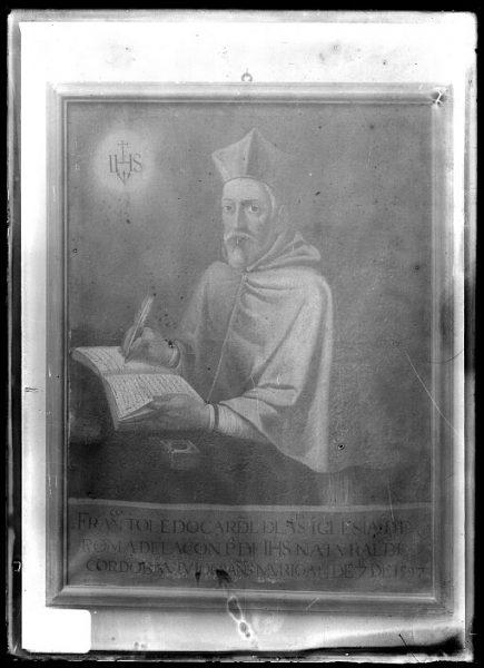 CA-0636-VI_Pintura de la Colección Borbón Lorenzana-Retrato del cardenal jesuita Francisco de Toledo