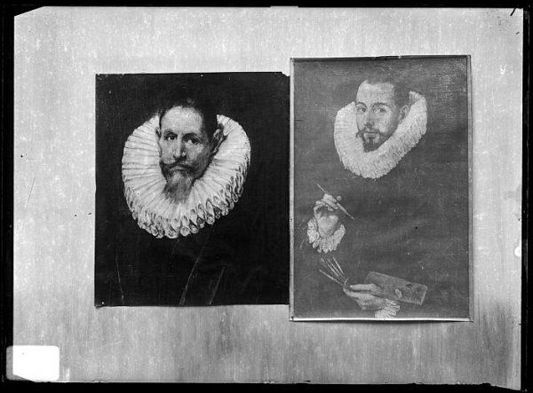 CA-0637-VI_Pinturas de la Colección Borbón Lorenzana-Retratos del canónigo Jerónimo de Ceballos y del pintor Luis Tristán