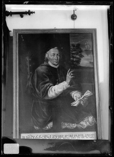 CA-0638-VI_Pinturas de la Colección Borbón Lorenzana-Retrato del obispo Luis de Velasco