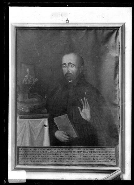 CA-0639-VI_Pinturas de la Colección Borbón Lorenzana-Retrato del jurista jesuita Gabriel Vázquez