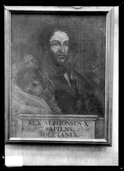 CA-0640-VI_Pinturas de la Colección Borbón Lorenzana-Retrato del rey Alfonso X El Sabio