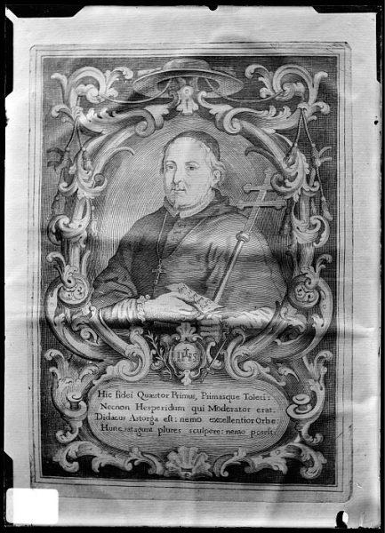 CA-0642-VI_Grabado-Retrato del cardenal Diego de Astorga y Céspedes