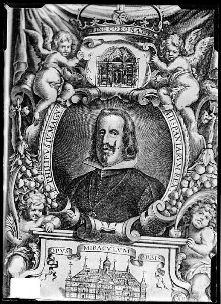CA-0655-VI_Grabado-Retrato del rey Felipe IV