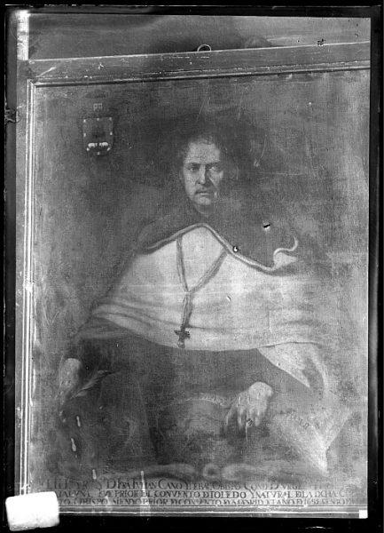 CA-0661-VI_Pintura de la Colección Borbón Lorenzana-Retrato del toledano fray Julián Cano y Thebar, obispo de Urgell