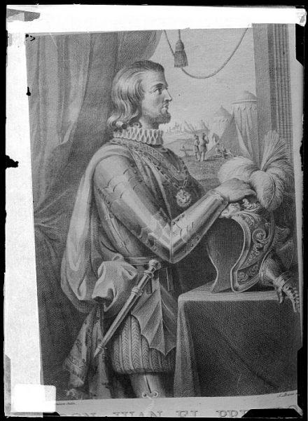 CA-0666-VI_Grabado-Retrato del rey Juan I