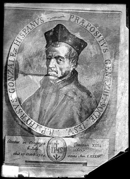 CA-0671-VI_Grabado-Retrato de Tirso González de Santalla, prepósito general de la Compañía de Jesús