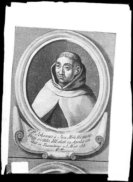 CA-0672-VI_Grabado-Retrato del carmelita Juan de Jesús y María
