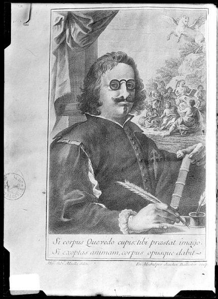 CA-0675-VI_Grabado-Retrato del escritor Francisco de Quevedo