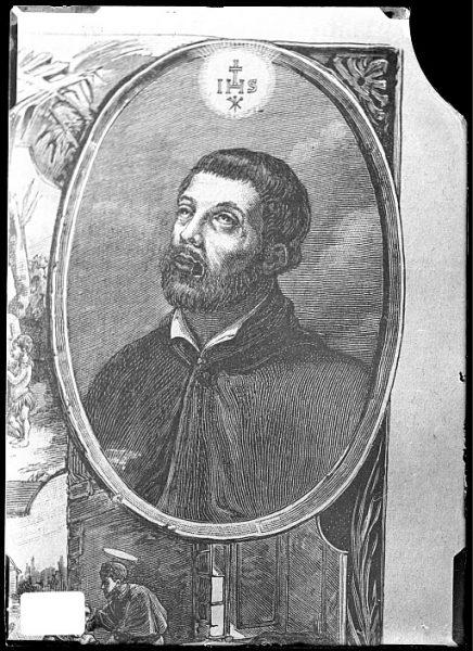 CA-0679-VI_Grabado-Retrato del jesuita San Francisco Javier
