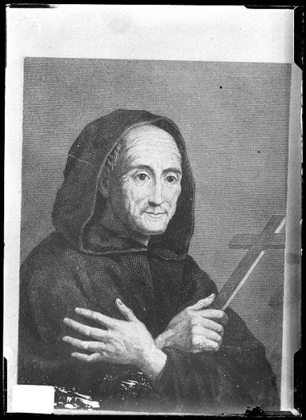 CA-0681-VI_Grabado-Retrato de santo Toribio de Liébana